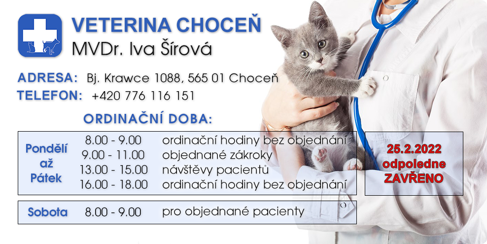 veterina Choceň